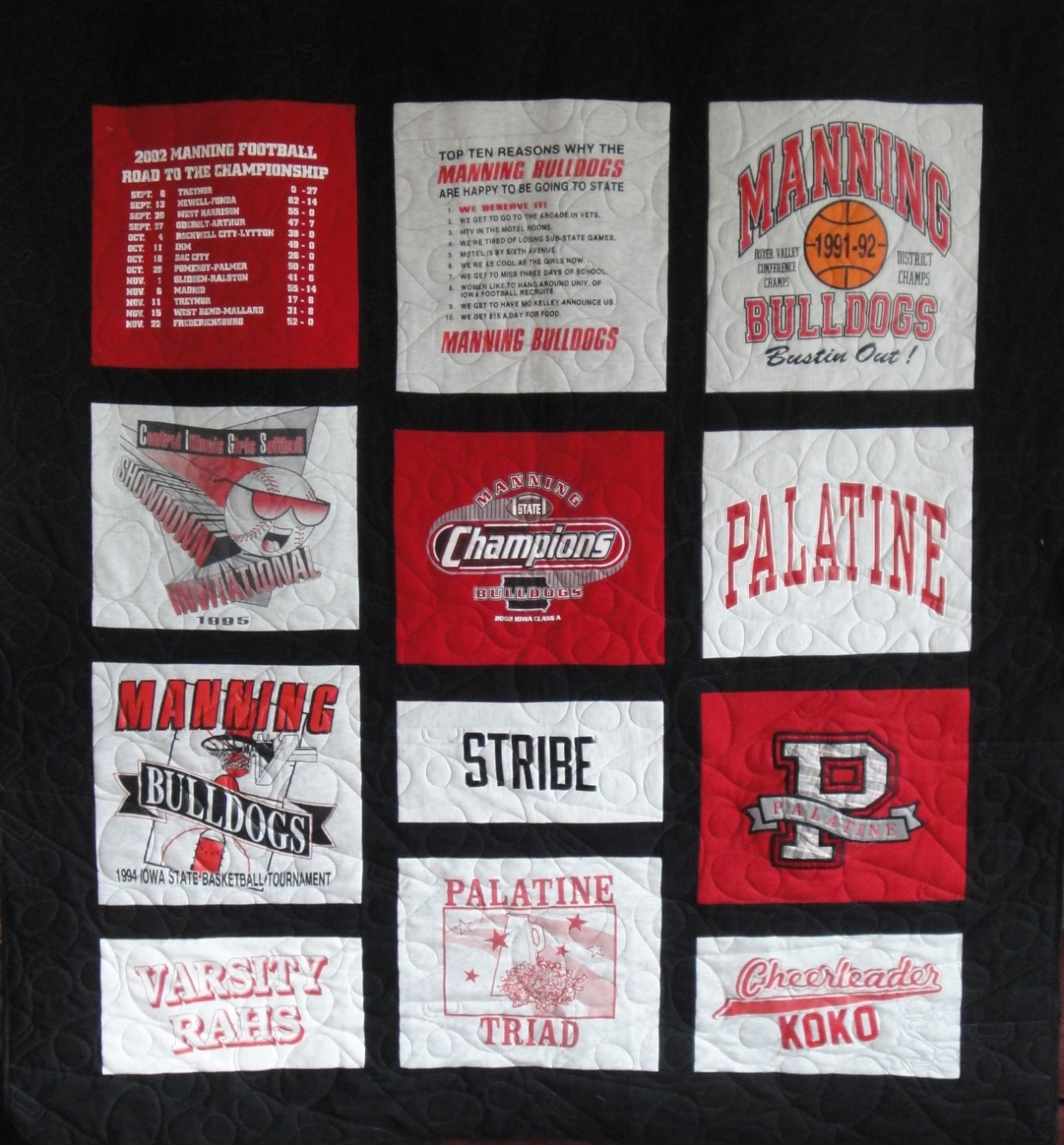 T-Shirt Quilt 1 picture