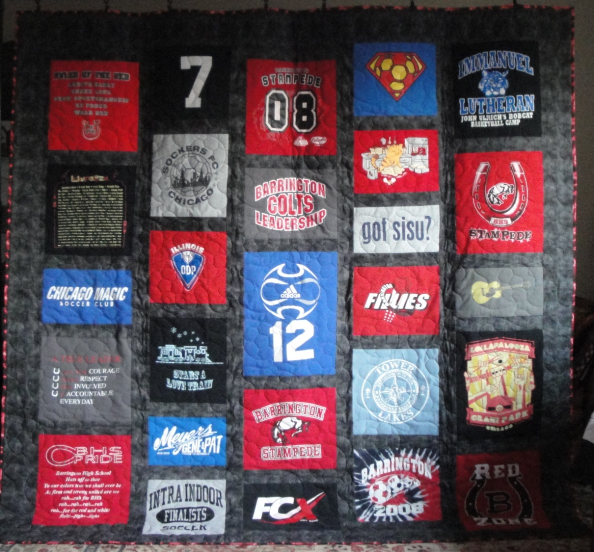 T-Shirt Quilt 2 picture